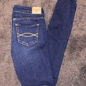 Abercrombie and Fitch Medium Wash Jeans